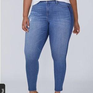 Power Pockets Super Stretch Skinny Ankle Jean
